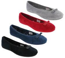 39 Pantofole da donna grigi sintetico