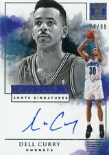 DELL CURRY 2019-20 PANINI IMPECCABLE SHOTS SIGNATURES AUTOGRAPH 70/99