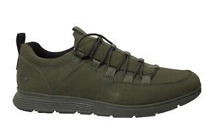 Timberland Killington Alpine Oxford Green Nubuck Leather Lace Up Mens Shoes