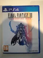 final fantasy ff XII 12 playstation ps4 ps 4