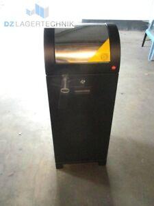 Hailo System-Wertstoffsammler Müllsackhalter Abfallsammler Mülleimer Schwarz