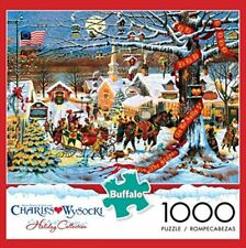 SMALL TOWN CHRISTMAS Charles Wysocki NEW 1000 piece Buffalo Jigsaw Puzzle NIB