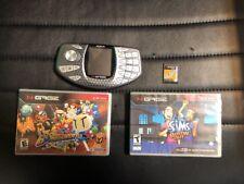 🔥Nokia N-Gage NEM-4 - Silver Cellular Phone Plus 3 Games! Bomberman