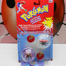 POKEMON BATTLE FIGURES 45 VILEPLUME 44 GLOOM 2000 Nintendo Hasbro Vintage Rare
