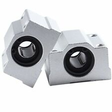 2pcs 12 mm SC12UU Linear Ball Bear Bearing Bush Bushing Linear Motion Machinery