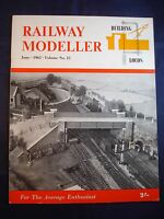 1 - Railway modeller - June 1962 - Contents page shown in photos