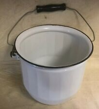 Vintage Enamelware Chamber Pot No Lid