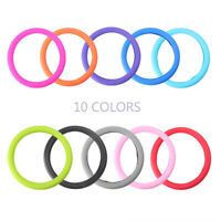 """13""""-15"""" Steering Wheel Glove Cover Universal Fit Elastic Silicone Mul-color Car"""