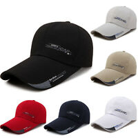 Plain Snapback Baseball Cap Men Women Peaked Hat Truckers Summer Hats Adjustable