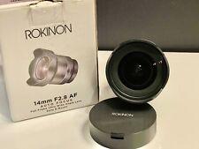 Rokinon / Samyang AF 14mm f/2.8 FE Lens for Sony E Mount