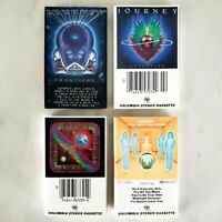JOURNEY - FRONTIERS + EVOLUTION - DEPARTURE - FUTURE - Cassette Set - Lot of 4