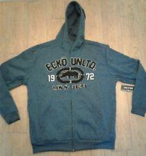 Ecko Unltd Lightweight Fleece Jacket Big&Tall Blue EK37HD50 Men's Size 3XB