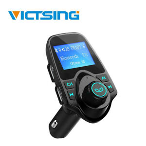 VicTsing Bluetooth FM Transmitter Car MP3 Player USB KFZ TF Freisprechanlage DHL