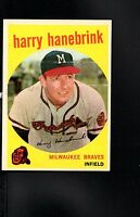 1959 Topps # 322 Harry Hanebrink (traded) NM