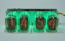 Nixie clock - in12 tube, green backlight