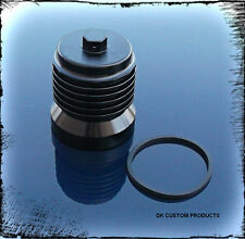 BLACK HIGH PERFORMANCE CLEANABLE REUSEABLE OIL FILTER FITS MOST HARLEY