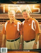 Texas Football  Magazine  UT Austin Longhorns Official Team Yearbook 2008