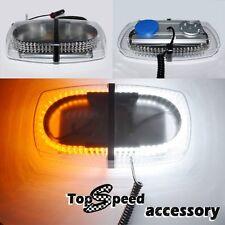 High Power 240 LED Car Strobe Light Emergency Warning light 12V AmberWhite