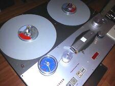 Telefunken M15A Master Stereo Tonbandmaschine XLR I/O Broadcast