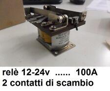 relè universale di potenza 12v 24v 36v 48v 1 contatto da 40A e 2 contatti da 50A