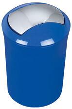 Spirella Sydney Blue Rubbish Bin Bucket Swiss Branded Goods