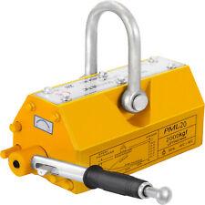 Heavy Duty 4400lb 2000kg Steel Lifting Magnet Magnetic Lifter Hoist Crane