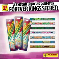 FOREVER RINGS SECRETS. ( Lote de 8 sobres. ) De Panini.