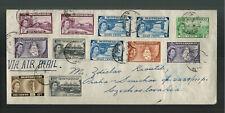 1961 Montserrat Cover to Czechoslovakia