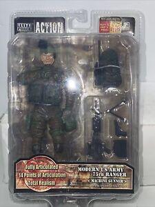 Blue Box Toys 1:12 Elite Force Us Army 75th Ranger Machine Gunner New Moc Nib
