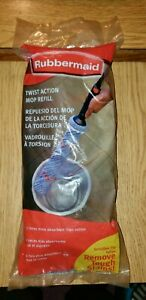 New Rubbermaid TWIST ACTION MOP REFILL Replacement 6b12 Mopping Head FG6B1204
