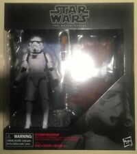 "Hasbro Star Wars The Black Series 6"" Deluxe Stormtrooper with Blast Accessories"