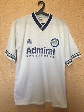 RARE LEEDS UNITED ENGLAND 1992/1993 HOME FOOTBALL SHIRT JERSEY MAGLIA UMBRO