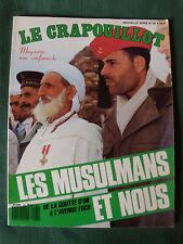 LE CRAPOUILLOT no 92 - LES MUSULMANS ET NOUS - Février 1987 - Islam français