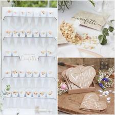 Wedding Confetti Cone Stand Holder Biodegradable Throwing Confetti Wedding Decor