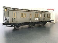 Märklin 5815 Gauge 1 Passenger Car 3-achsig Original Box