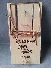 tapette à souris,piège à souris, 1 tapette en bois made in FRANCE ,9.6 x 4.6 cm