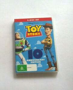 Toy story 10th anniversary edition  dvd clean disk Australian release