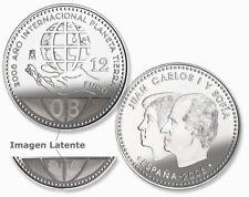 Moneda plata 12 euros 2008 - Año internacional planeta tierra