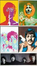 ORIGINAL AUTHENTIC BEATLES POSTER SET 5 BY RICHARD AVEDON DONE IN 1967