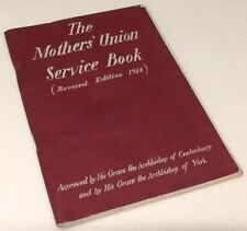 Mothers' Union Service Book 1948 Edition