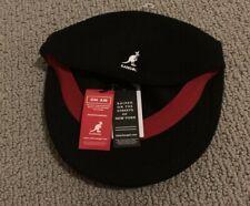 Kangol Rare Black 504 Bermuda Ivy K3075ST Acrylic Blend Men's Large Flat Hat Cap
