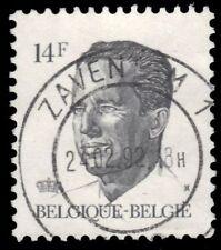 """BELGIUM 1231 - King Baudouin """"1990 Dark Grey"""" (pf55825)"""