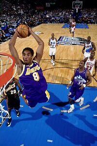 Kobe Bryant Poster 12x18 Slam Basketball Los Angeles Lakers MAMBA All Star Game