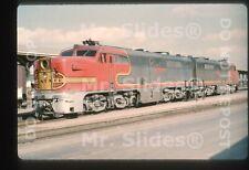 Duplicate Slide ATSF Santa Fe ALCO PA1 71 & PA1 Ft. Worth TX 1965