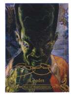 2018 Upper Deck Marvel Masterpieces Leader Gold Signature Card #17 Bianchi