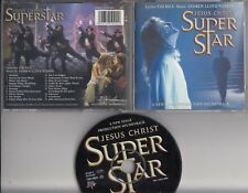 JESUS CHRIST SUPERSTAR A New Stage Production Soundtrack CD MUSICAL GLENN CARTER