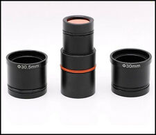 HD CMOS 2.0MP USB Universal Digital Eyepiece Microscope Camera 23.2 Ring Adapter