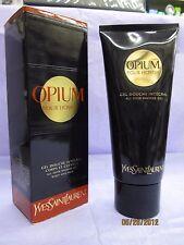 OPIUM HOMME YVES SAINT LAURENT 6.6 oz / 200 ML All Over Shower Gel Body & Hair
