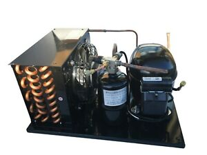 New Indoor Condensing Unit 1/2+ HP, R404A, Low Temp, 115V (Embraco NEK2150GK1)