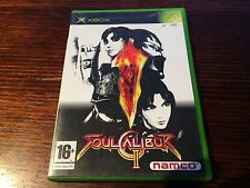 Soul Calibur II 2 (Microsoft XBOX) Tekken Fighter Namco Beat Em Up Arcade Blade